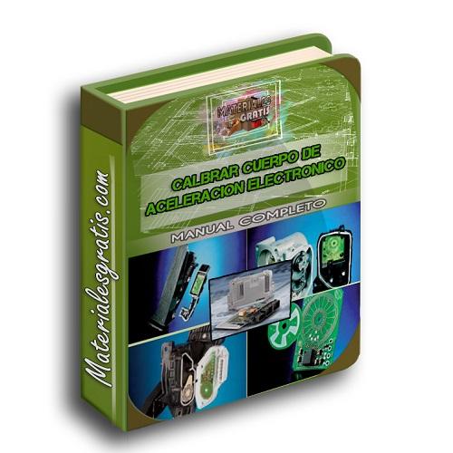 Manual para calibra Cuerpo de aceleración Electrónico